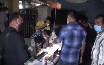 Polrestabes Medan Grebek Swab Driver Thru Lapangan Merdeka, Diduga Tak Miliki Legalitas